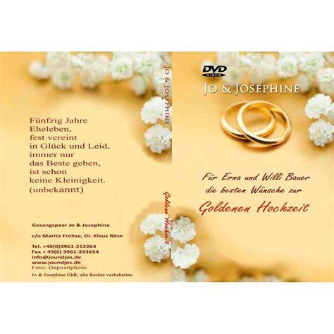 album goldene hochzeit zur goldenen hochzeit personalisierte dvd schenken hochzeitsjubil 228 en