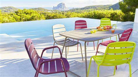 nouvelle collection de mobilier de jardin chez carrefour