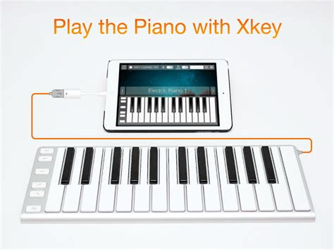 xkey  piano app  iphone ipad mac windows android