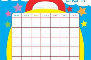 Free Print Out Reward Chart For Your Potty Training
