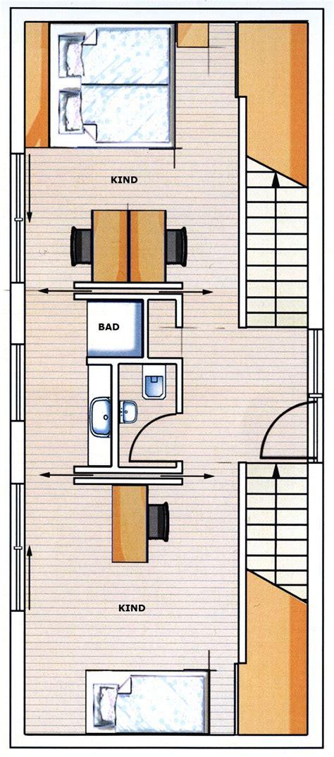 Grundriss Haus Schmales Grundstück by Kreativ Geplant Mit Hang Zum Gl 252 Ck Neubau Hausideen