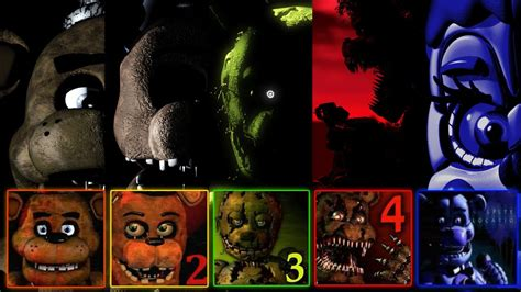 Fnaf 1, 2, 3, 4, 5 Jumpscare Simulator