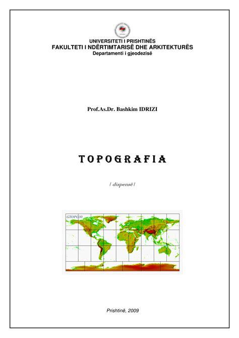 dispense topografia pdf topografia dispens 235 p 235 r student 235 t e gjeodezis 235