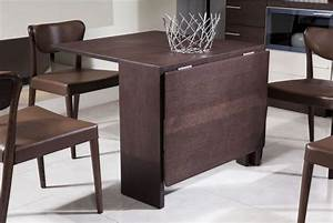 Brown Expandable Dining Table Ideas For Small Spaces