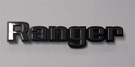 ford  series truck ranger emblem