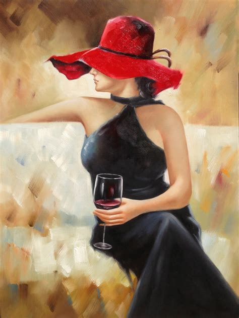 lady  wine glass framed wall art urban furniture outlet