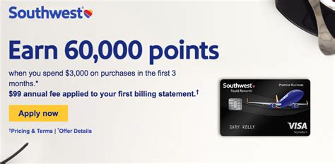 Review each card's pros and cons so you can choose the card that would most benefit your situation. Southwest Business Credit Card Increased to 60,000 Point Offer! - Deals We Like