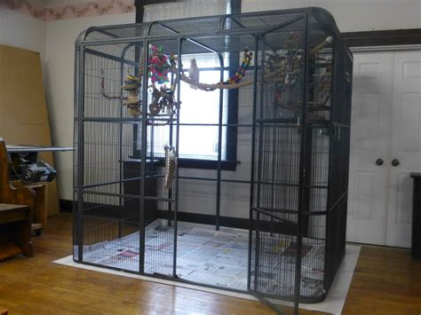 large bird cages for parrots bird cages