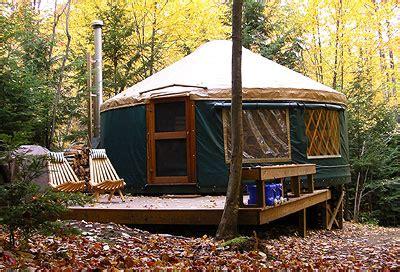 Eco-friendly Yurt In Western Maine
