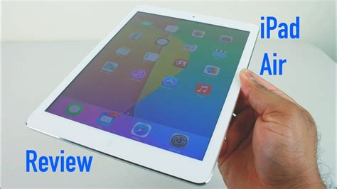 ipad air review gb white  silver youtube