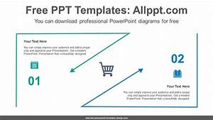 Triangle Line Arrow Powerpoint Diagram Template