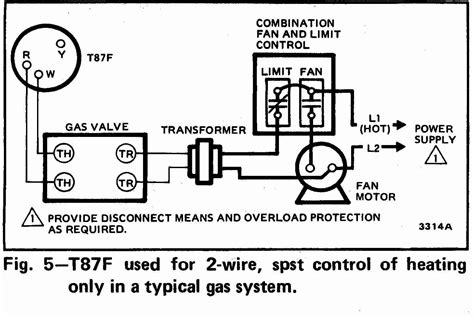 Guide Wiring Connections For Room Thermostats