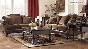 Key Town Truffle Living Room Furniture From Millennium By