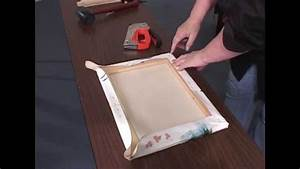 How To Stretch A Canvas For Oil  U0026 Acrylic Paintings