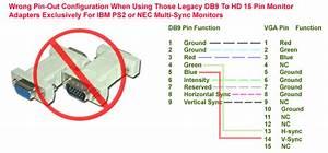 Rgb Db9 To Hd 15