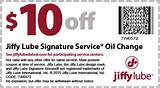 Jiffy Lube Oil Change Coupon Pictures