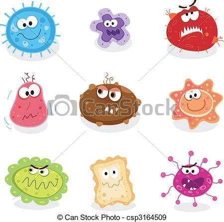 Vire Clip Eps Vectores De Bichos Microbios Cerdos Gripe C 225 Ncer