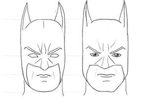 How to Draw Batman Drawing