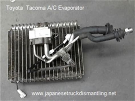 toyota tacoma ac evaporator
