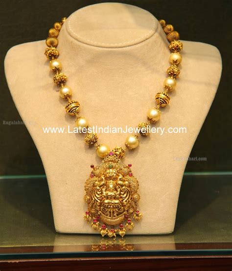 malabar gold temple jewellery with pearls haram jewelry gold temple jewellery temple jewellery