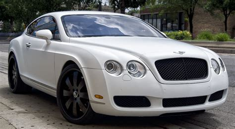 Bentley Continental Matte White Wrap Powder Coated