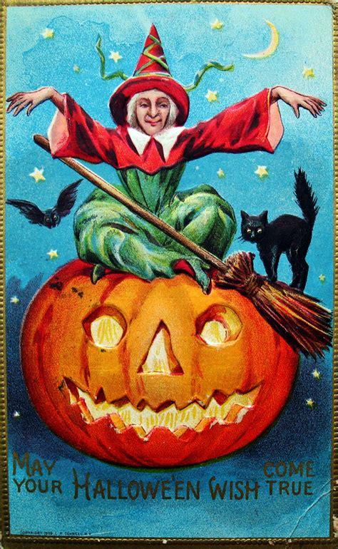 vintage halloween postcards cs vintage everyday