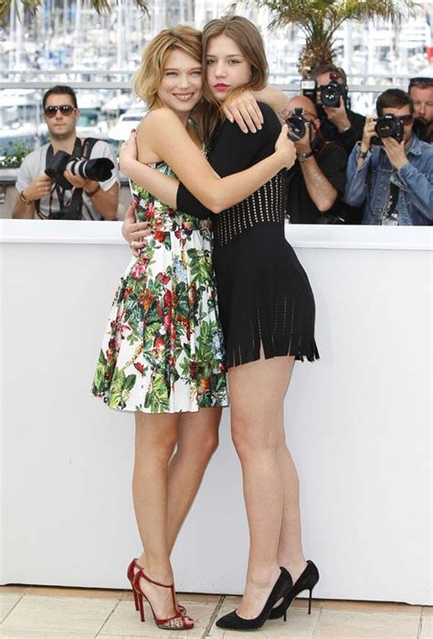 lea seydoux blue is the warmest color lea seydoux and adele exarchopoulos at the quot blue is the