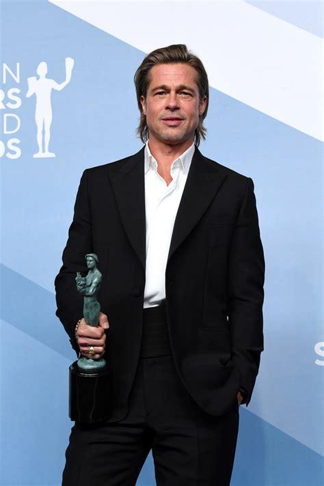 Brad pitt & angelina jolie 'each spent $1million' in bitter divorce. Brad Pitt In Brioni @ 2020 Screen Actors Guild Awards - Fashionsizzle