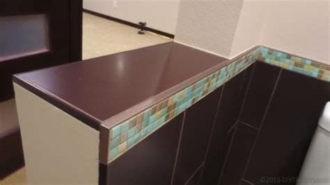 tile edge trim after tiling 5 tile edge trim options besides bullnose tile diytileguy