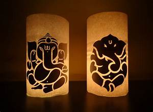 Paper Crafts (Diwali Decoration Ideas) : Candle