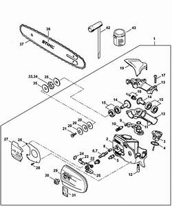 33 Stihl Ht101 Pole Saw Parts Diagram