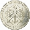 Germany 10 Euro silver coin 800. birthday of Elisabeth von ...
