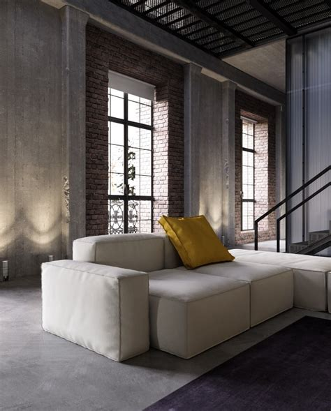 An Industrialinspired Apartment With Sophisticated Style