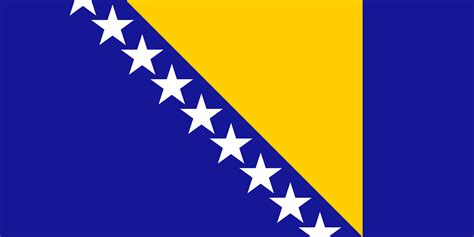 Flag Of Bosnia And Herzegovina The Symbol Of Integrity