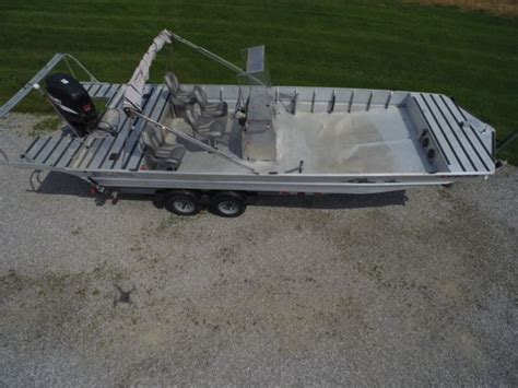 life tyme welded aluminum work fishing boat timepontoon flat bottom  sale