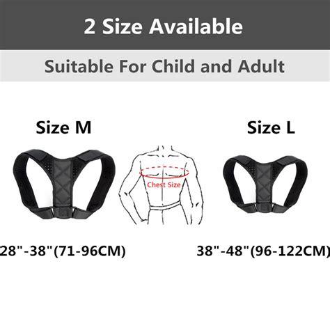 Medical Adjustable Clavicle Posture Corrector Men Woemen ...