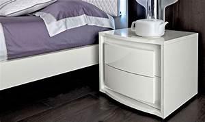 Moderne Möbel Aus Italien : nachttisch nachtkonsole modern elegant wei hochglanz designmoebel aus italien ebay ~ Sanjose-hotels-ca.com Haus und Dekorationen