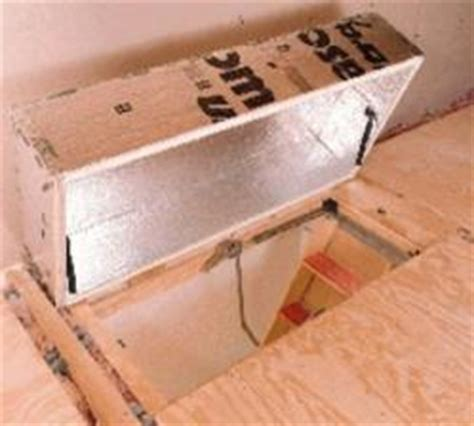 attic door insulation winterizing homes saves money energy and the environment