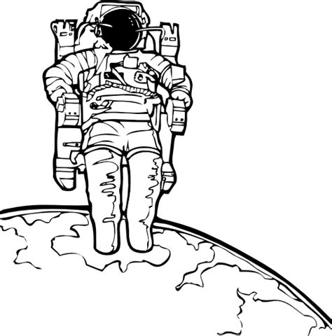 space shuttle clipart black and white spacewalk clipart i2clipart royalty free domain