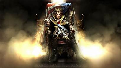 King Fantasy Throne Wallpapers Backgrounds Lion Desktop