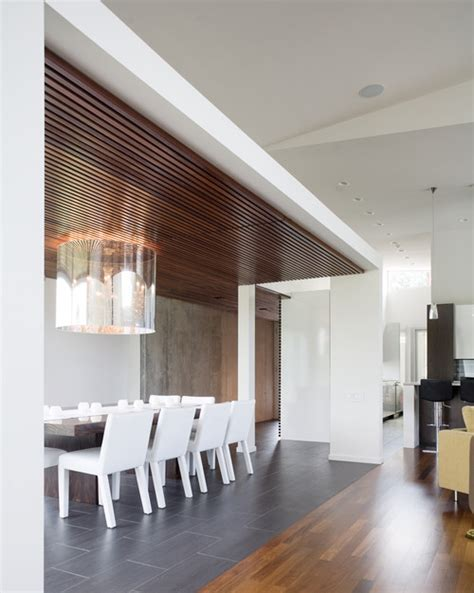 Wood Slat Ceiling