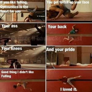 Stick It Gymnastics Movie Quotes. Missing gymnastics like ...