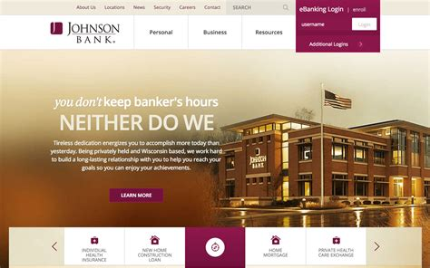 the best website for the definitive list of the best bank website designs
