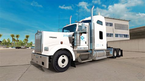 Skin For Usa Truck Truck Kenworth W900 For American Truck