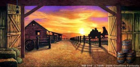 Western Backdrop