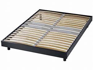 Sommier À Lattes Conforama : cadre de lit 120 190 conforama table de lit ~ Dode.kayakingforconservation.com Idées de Décoration