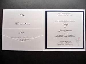 rose thistle themed pocketcard wedding invitations With wedding invitation insert order