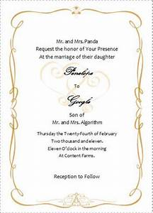 wedding invitation wording wedding invitations templates With wedding invitation templates for microsoft word 2007