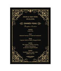 trifold wedding program template 27 wedding menu templates free sle exle format