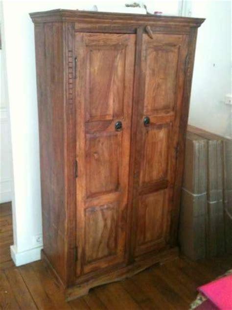 armoire indienne en palissandre 224 paris meubles